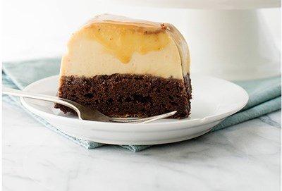 Cách làm bánh flan chocolate-hình số-12