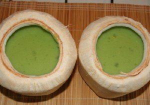 Cách làm bánh flan lá dứa ngon tuyệt-hình số-5