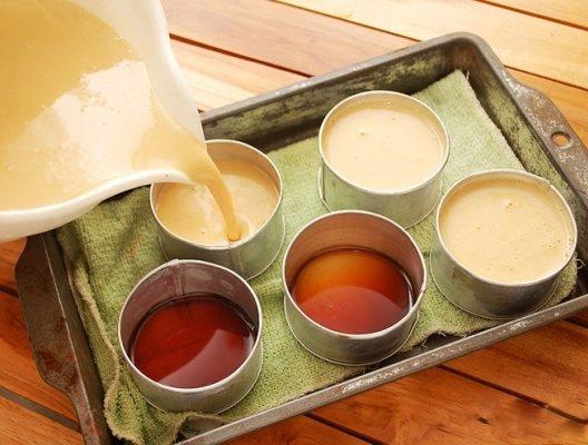 Hướng dẫn cách làm bánh flan cà phê thơm ngon-hình số-5