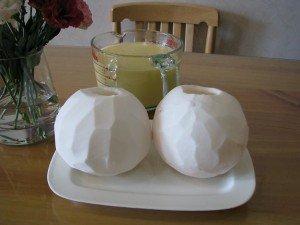 Bí quyết làm bánh flan trái dừa mát lịm-hình số-3