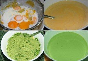 Cách làm bánh flan vị trà xanh thơm ngon-hình số-1