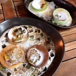 Không thể bỏ qua các món bánh flan dừa tại Trần Bình Trọng-hình số-5