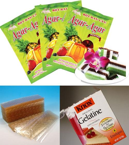 Bột gelatin có phải là bột rau câu không?-hình số-1
