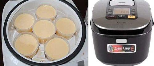Cách làm bánh caramen bằng nồi cơm điện đơn giản-hình số-4