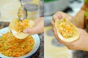 Hướng dẫn cách làm bánh gối khoai lang-hình số-4