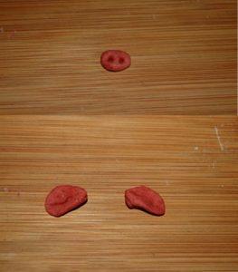 Cách làm bánh bao hình con heo ngộ nghĩnh-hình số-5