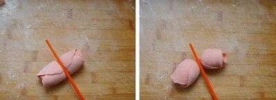 Cách làm bánh bao hoa hồng cực đơn giản-hình số-5