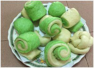 Bí quyết làm bánh bao lá dứa thơm ngon-hình số-4