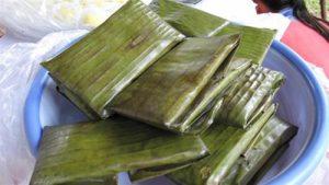 Cách làm bánh gạo gói lá chuối ngon tuyệt-hình số-4