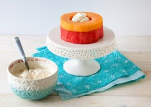 Cách làm bánh kem hoa quả ngon tuyệt-hình số-3