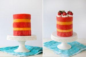 Cách làm bánh kem hoa quả ngon tuyệt-hình số-4