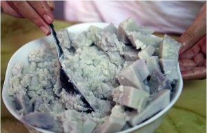 Cách làm bánh khoai môn nhân đậu xanh thơm ngon-hình số-1