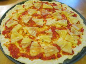 Cách làm bánh pizza dăm bông dứa cực ngon-hình số-2