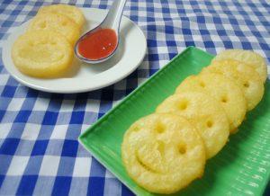 Chia sẻ cách làm bánh khoai tây hình mặt cười ngộ nghĩnh-hình số-8