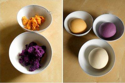 Học cách làm bánh khoai 3 màu vừa đẹp vừa ngon-hình số-3