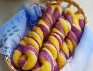 Học cách làm bánh khoai 3 màu vừa đẹp vừa ngon-hình số-7