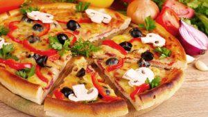 Cách làm bánh pizza đơn giản tại nhà không cần lò nướng-hình số-3
