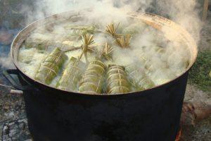 Học cách làm bánh tét nhân đậu xanh đón Tết-hình số-6