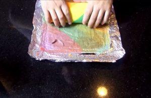 Cách làm bánh bông lan 7 màu đầy hấp dẫn-hình số-7