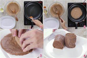 Cách làm bánh bông lan bằng chảo chống dính-hình số-3