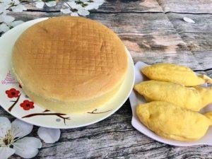 Học làm bánh bông lan nhân sầu riêng thơm ngon khó cưỡng-hình số-6