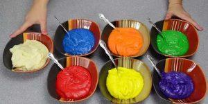 Chia sẻ cách làm bánh kem 7 màu tuyệt đẹp-hình số-2