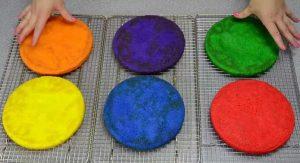 Chia sẻ cách làm bánh kem 7 màu tuyệt đẹp-hình số-4