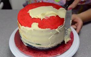 Chia sẻ cách làm bánh kem 7 màu tuyệt đẹp-hình số-6