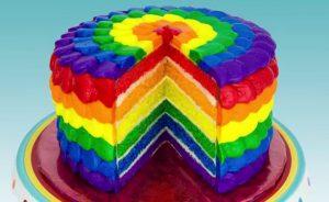 Chia sẻ cách làm bánh kem 7 màu tuyệt đẹp-hình số-10