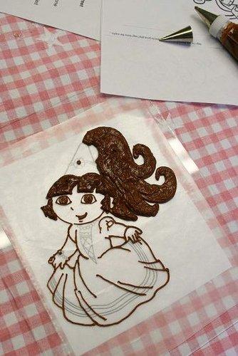 Học làm bánh kem hình công chúa đầy ấn tượng-hình số-5