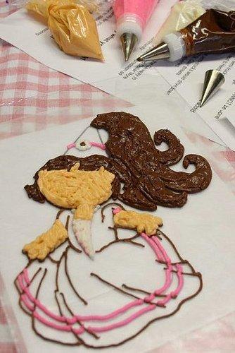 Học làm bánh kem hình công chúa đầy ấn tượng-hình số-6