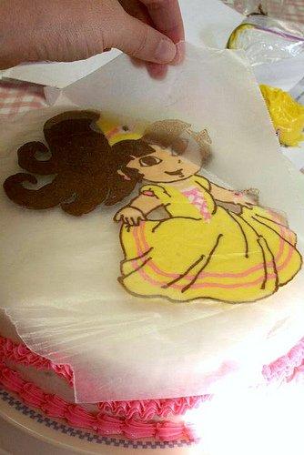 Học làm bánh kem hình công chúa đầy ấn tượng-hình số-8