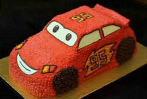 Tự làm bánh kem hình ô tô đáng yêu cho bé-hình số-8