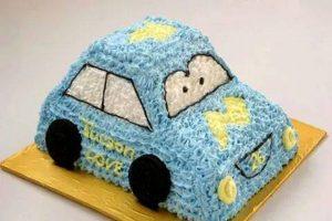 Tự làm bánh kem hình ô tô đáng yêu cho bé-hình số-9