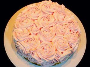 Cách làm bánh kem hoa hồng đẹp mắt-hình số-5