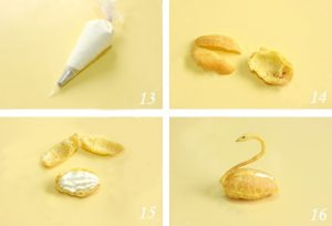 Công thức làm bánh su kem hình thiên nga cực độc đáo-hình số-5