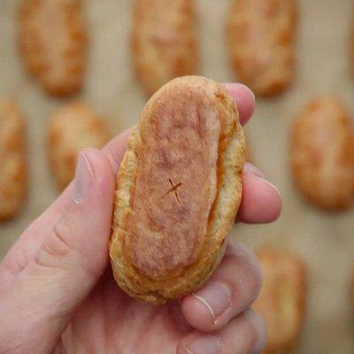 Chia sẻ cách làm bánh su kem kiểu mới-hình số-8