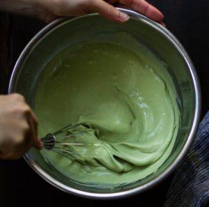 Học cách làm bánh su kem nhân trà xanh ngon tuyệt-hình số-5