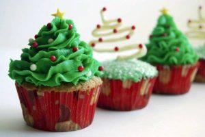 Tự làm bánh cupcake Giáng sinh đơn giản-hình số-3