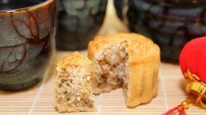 Bí quyết làm bánh trung thu nhân dừa thơm ngon-hình số-4