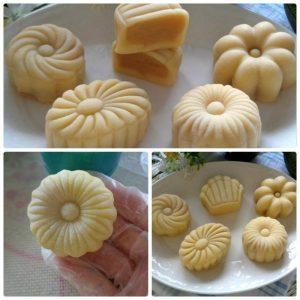 Cách làm bánh trung thu từ bột nếp đơn giản nhất-hình số-2