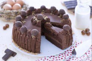 Cách làm bánh gato phủ chocolate hấp dẫn-hình số-8