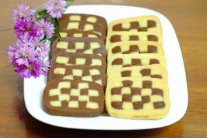 Học cách làm bánh quy hình bàn cờ lạ mắt-hình số-9