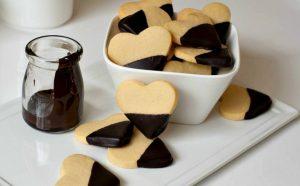 Cách làm bánh quy trái tim cực kỳ đáng yêu-hình số-3